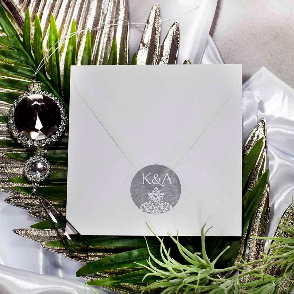 naklejka-na-koperty-ślubne-Silver