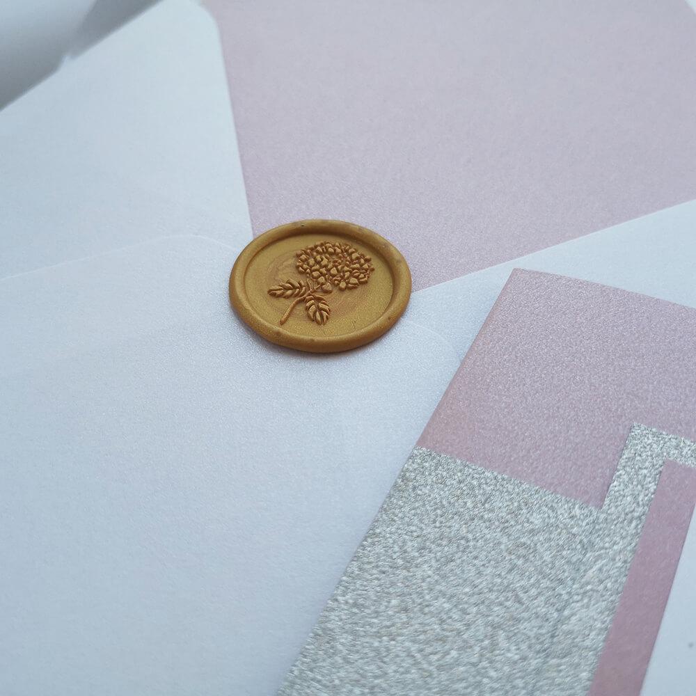 laki do kopert ślubnych, różne wzory i kolory