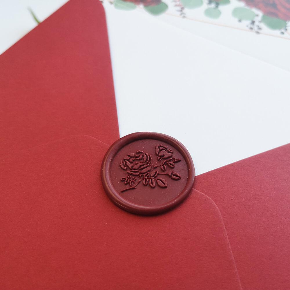 lak na koperty ręcznie robiony, elastyczny