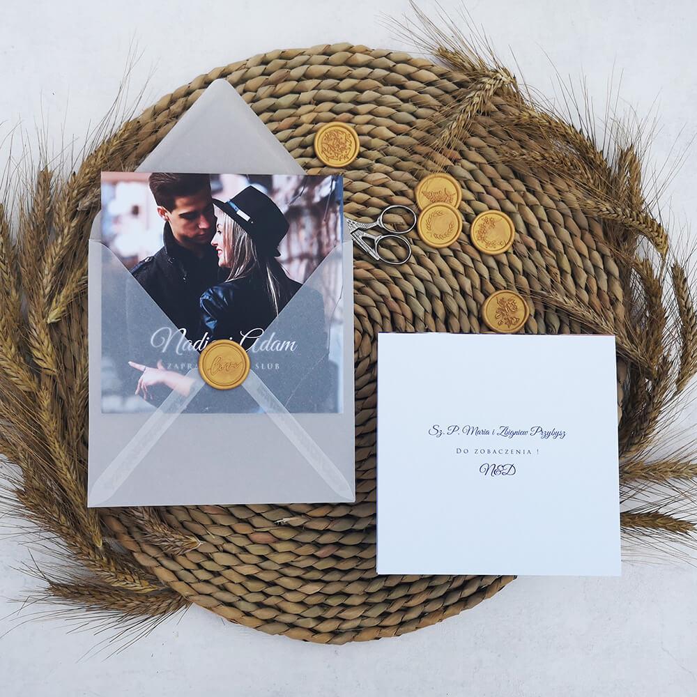 spersonalizowanie listy gości na kopertach i zaproszeniach