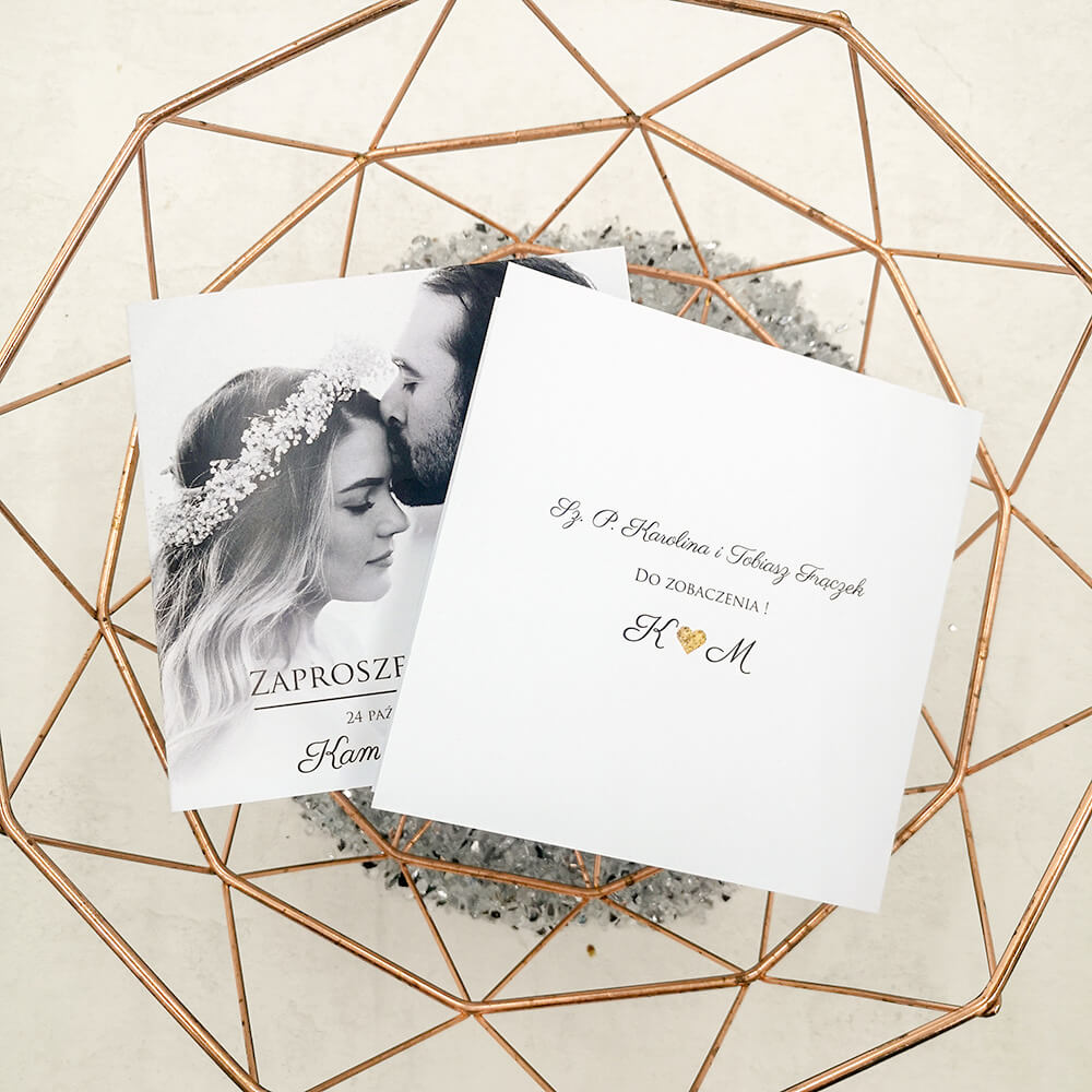nadruk nazwisk gości weselnych, personalizacja