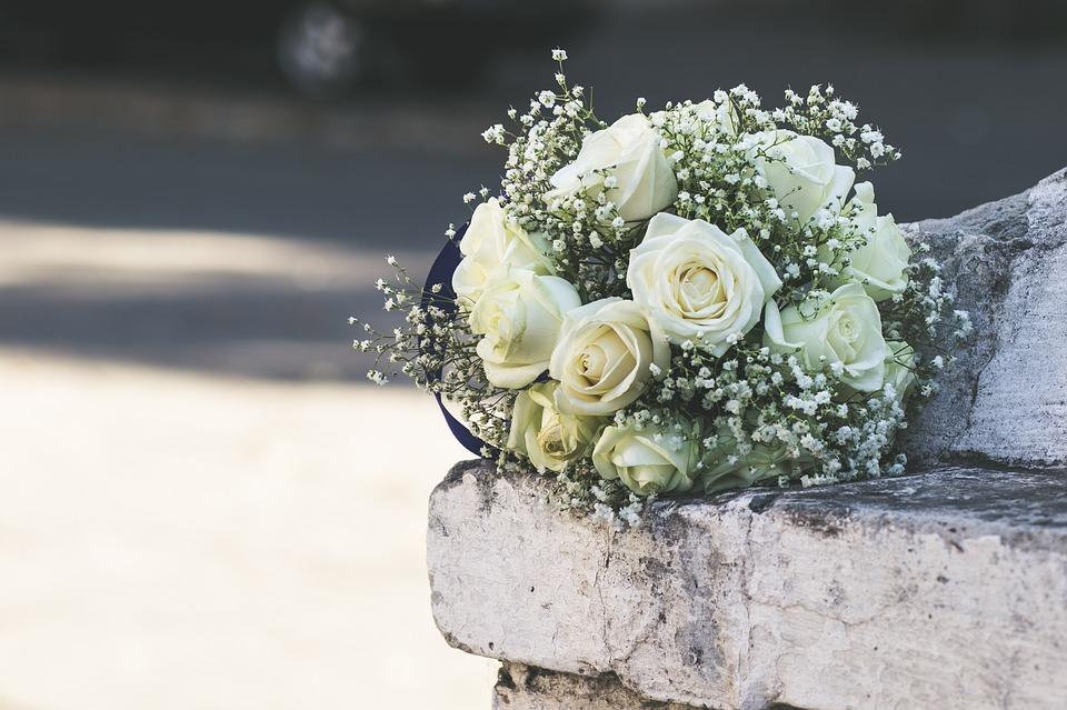 bukiety ślubny